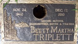 Betty Martha Triplett
