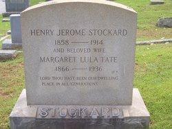 Margaret Lula <I>Tate</I> Stockard