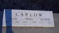 Julia K <I>Osborn</I> Carlow