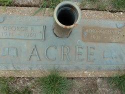 Dorothy <I>Glover</I> Acree