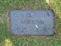 Fannie <I>Litton</I> Mulrine
