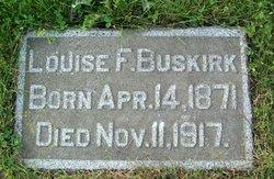 Louise Fannie <I>Niehus</I> Buskirk