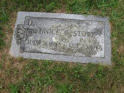 Eunice May <I>Coffill</I> Stowe