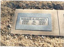 Minnie U <I>Utter</I> Heaney