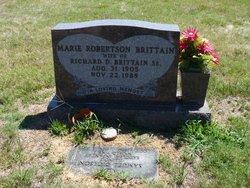 Marie <I>Robertson</I> Brittain