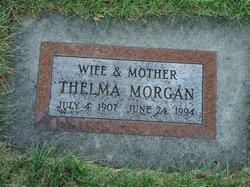 Thelma <I>Morgan</I> Morgan