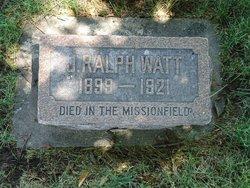 John Ralph Watt