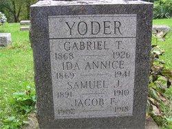 Ida Annice <I>Bowman</I> Yoder