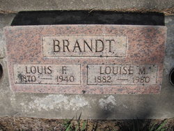 Louise M <I>Tracy</I> Brandt