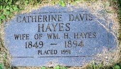 Sarah Catherine Millsaps <I>Davis</I> Hayes