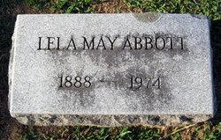 Lela May <I>Bramblett</I> Abbott