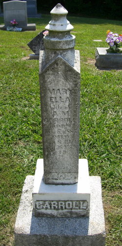 Mary Ella <I>Tillotson</I> Carroll