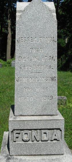 Jane M. <I>Lansing</I> Fonda