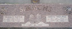 Harry Harland Simmons