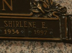 Shirlene E <I>Ford</I> Bowman