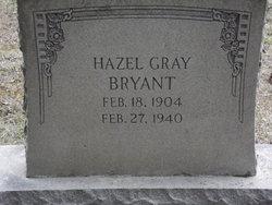 Hazel <I>Gray</I> Bryant