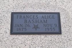 Frances Alice <I>Freeman</I> Basham