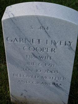 Garnet <I>Lively</I> Cooper