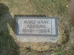 Mary Jane <I>Frost</I> Abrams