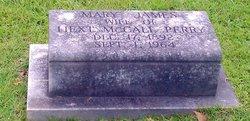 Mary <I>James</I> Perry