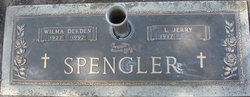Wilma Lois <I>Derden</I> Spengler
