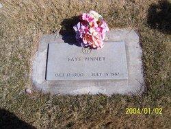 Faye <I>Cox</I> Pinney