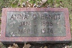 Anna O <I>Wickman</I> Bandt