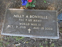Nelly A. <I>Barstow</I> Bonville