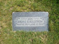 Archie Burdell Kolstrom