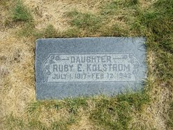 Ruby Ethelyn Kolstrom