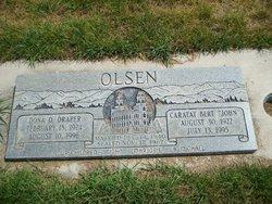 """Caratat Bert """"John"""" Olsen"""
