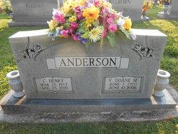 Vertie Doane <I>Mathis</I> Anderson