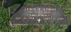 Lewis Edward Lyons