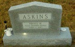 Inez Elizabeth <I>Tompkins</I> Askins