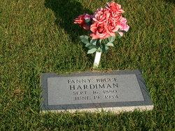 Fannie Bruce <I>Britton</I> Hardiman