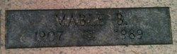 Mable B <I>Leach</I> Alderman