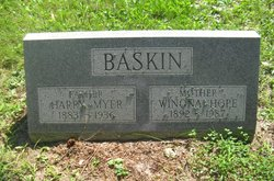Winona Hope <I>Wolfe</I> Baskin