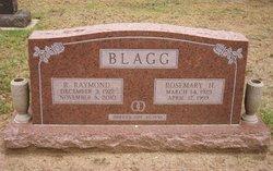 Rosemary <I>Hargett</I> Blagg