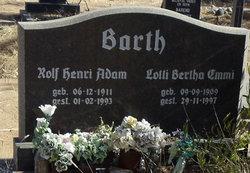 Rolf Henry Adam Barth