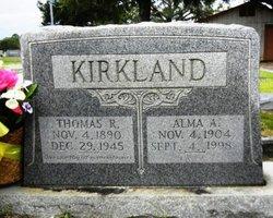 Alma A. <I>Whitton</I> Kirkland