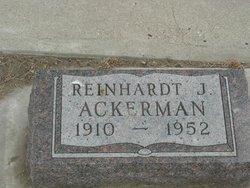 Reinhardt J. Ackerman