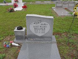 Janet Venice <I>Wildes</I> Bellisle