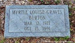 Myrtle Louise <I>Graves</I> Burton