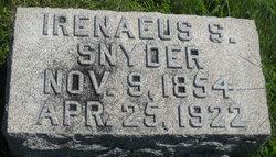 Irenaeus S Snyder