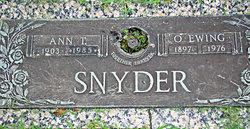 O. Ewing Snyder