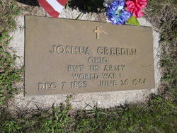 "Pvt Joshua Patrick ""Peck"" Creeden"