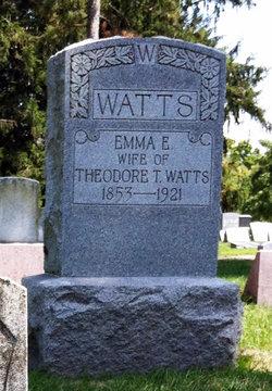 Emma E I Miles Watts