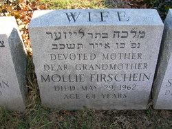 Mollie <I>Weiss</I> Firschein