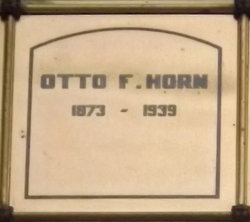 Otto F Horn