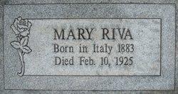"""Anna Maria """"Mary"""" <I>Aimonino</I> Riva"""